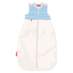 Baby sleeping bag Blue Stripes / 6-24 Months (90cm)